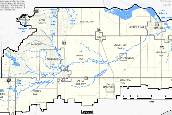 Maps DNR Protected Waters Inventory